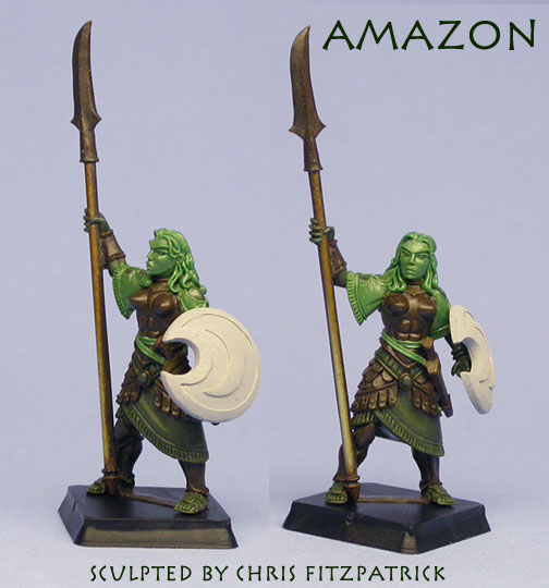 Wargods of Olympus AmazonGreen-mailer