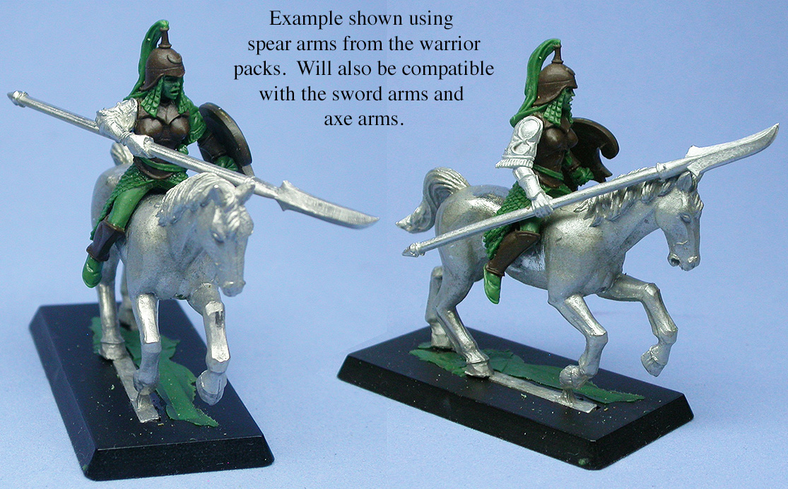Amazon Cavalry Arm Options