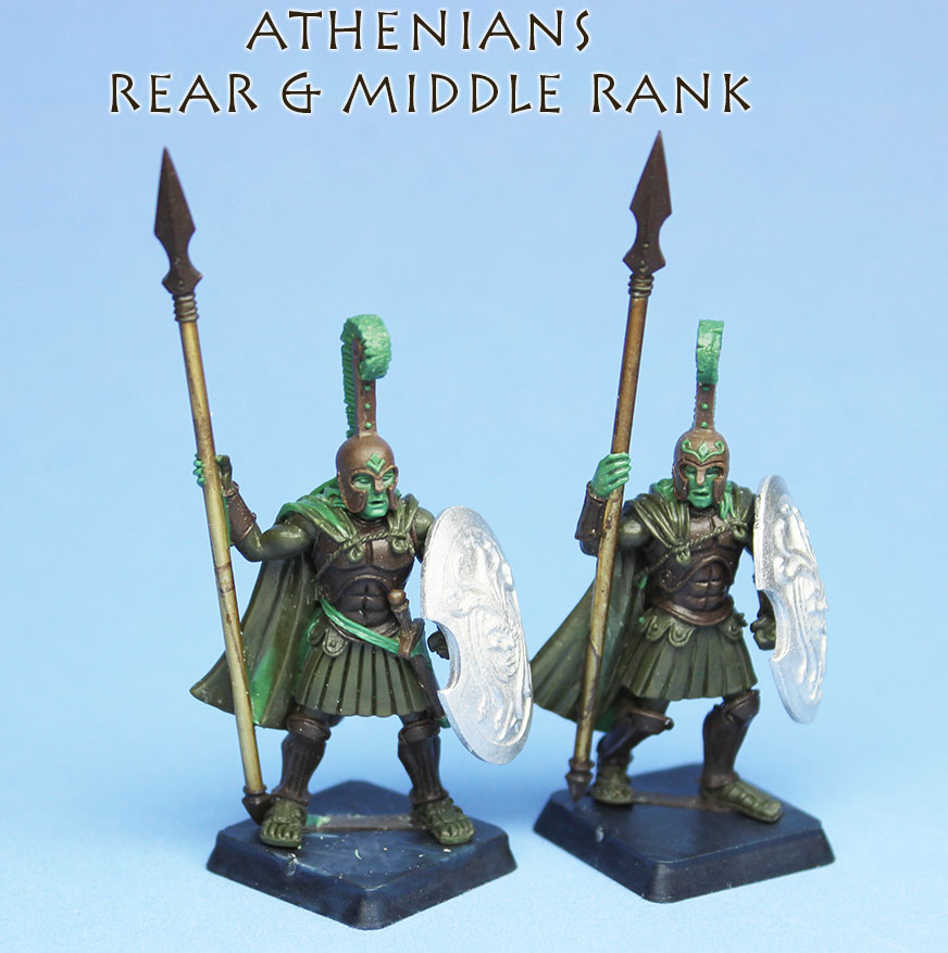 Middle & Rear Rank Athenians