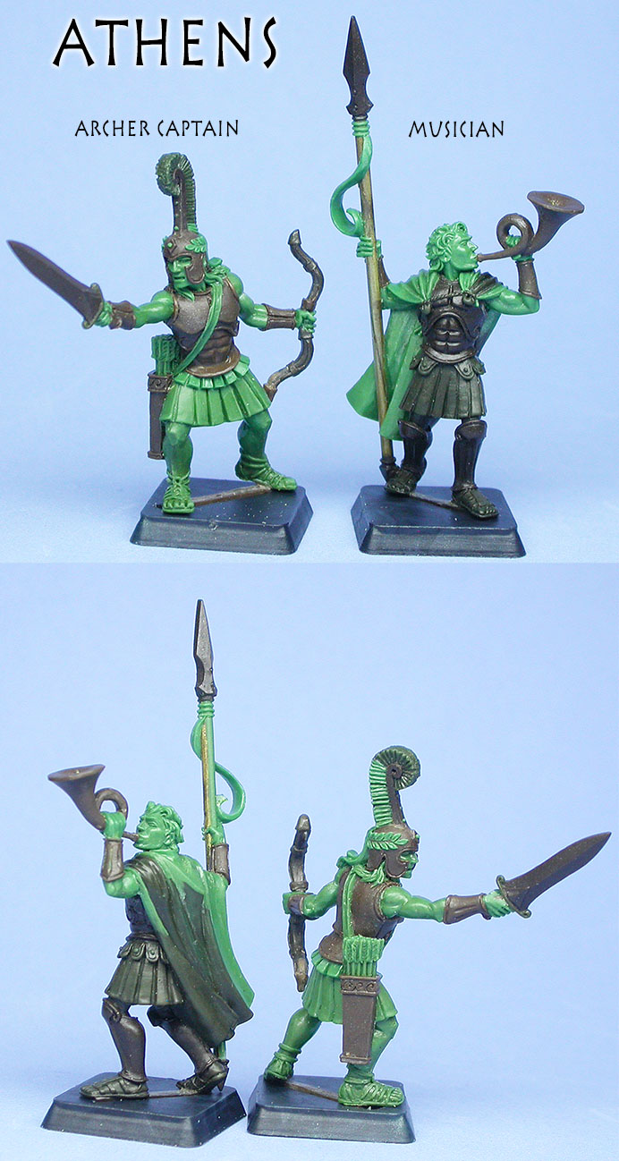 Athenian command miniatures