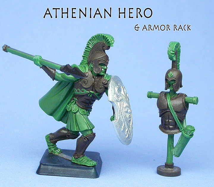 Athens Hero & Armor Rack