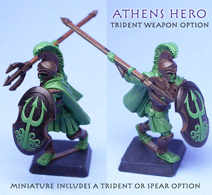 Athens Hero with Trident