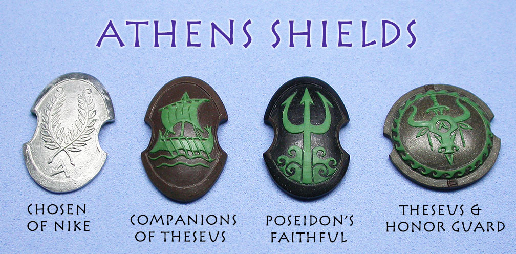 Athens shields