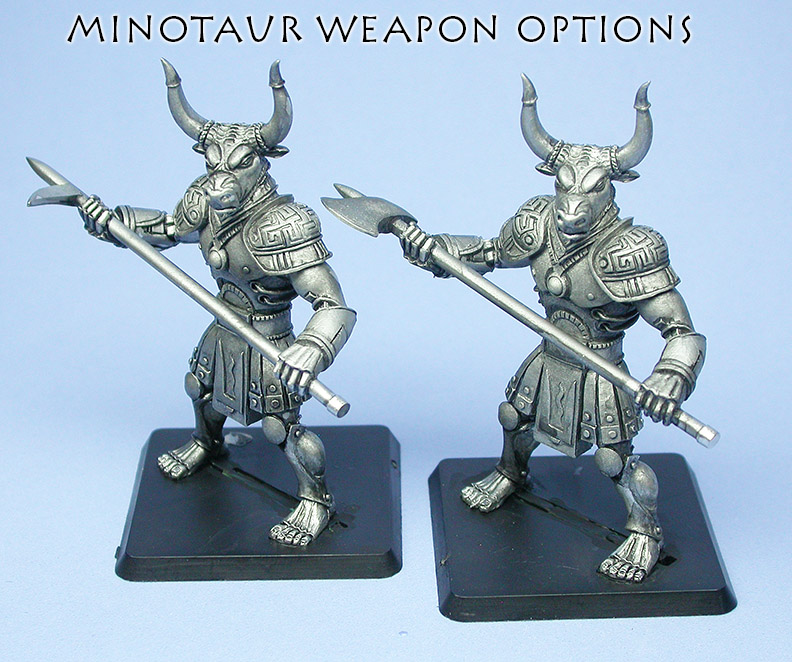 Minotaur Options pose 1