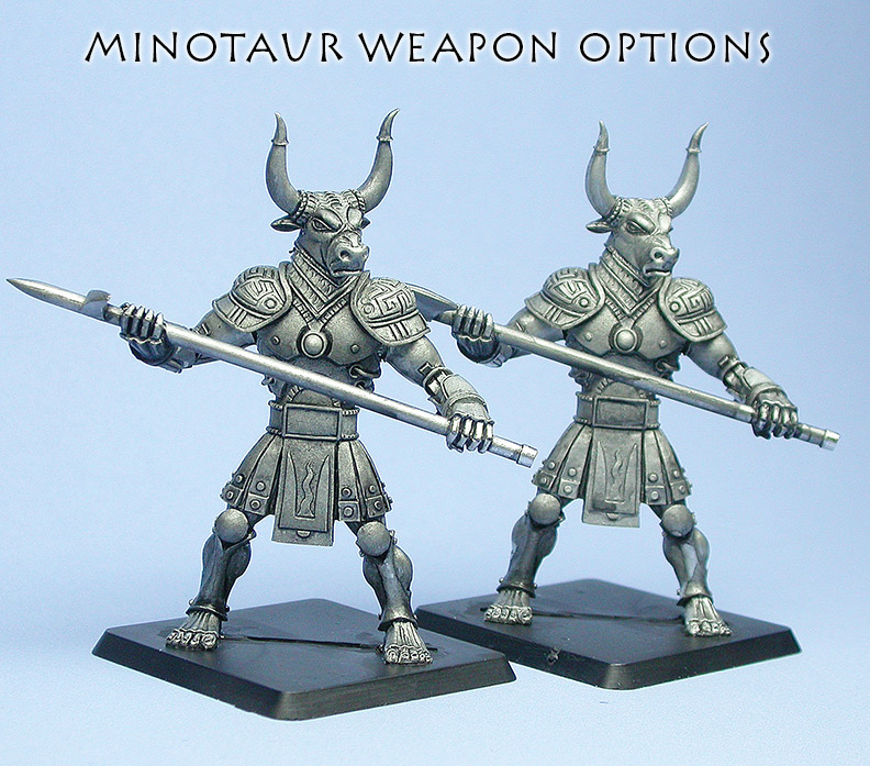 Minotaur options pose 2