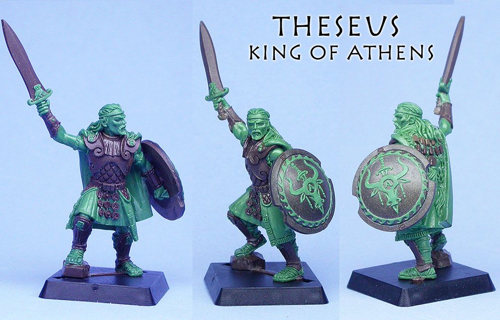 Theseus completed
