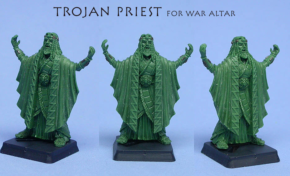 Trojan War Altar priest
