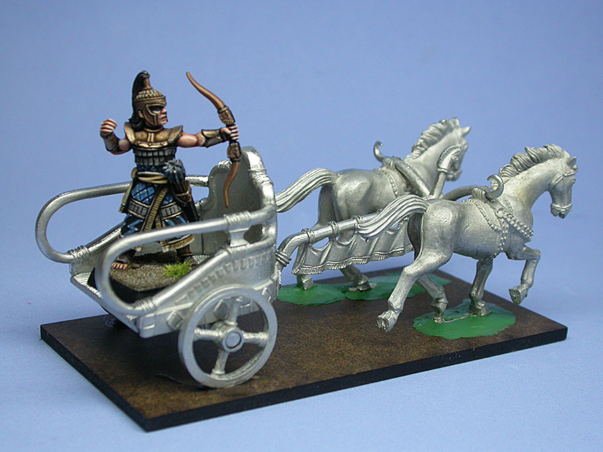 Troy Chariot in metal 2