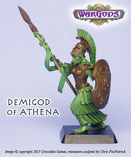 Demigod of Athena