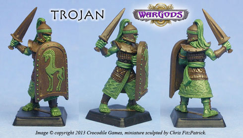 Trojan Swordsman
