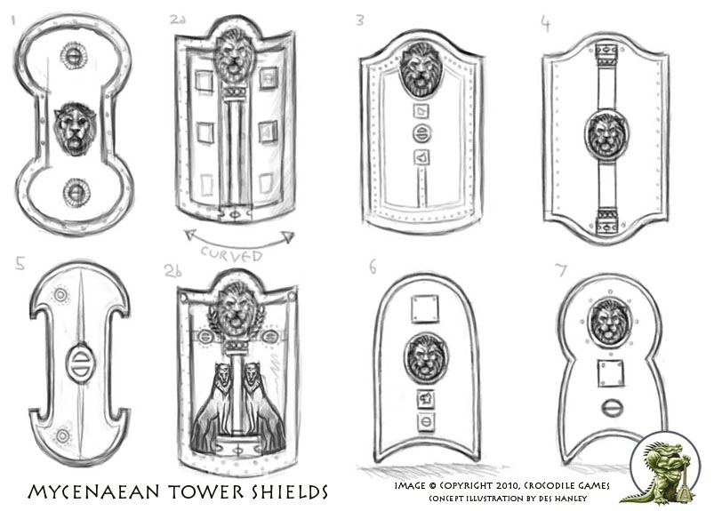 Tower Shield concepts