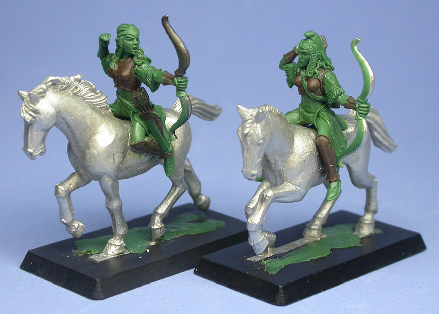 Amazon Cavalry archers