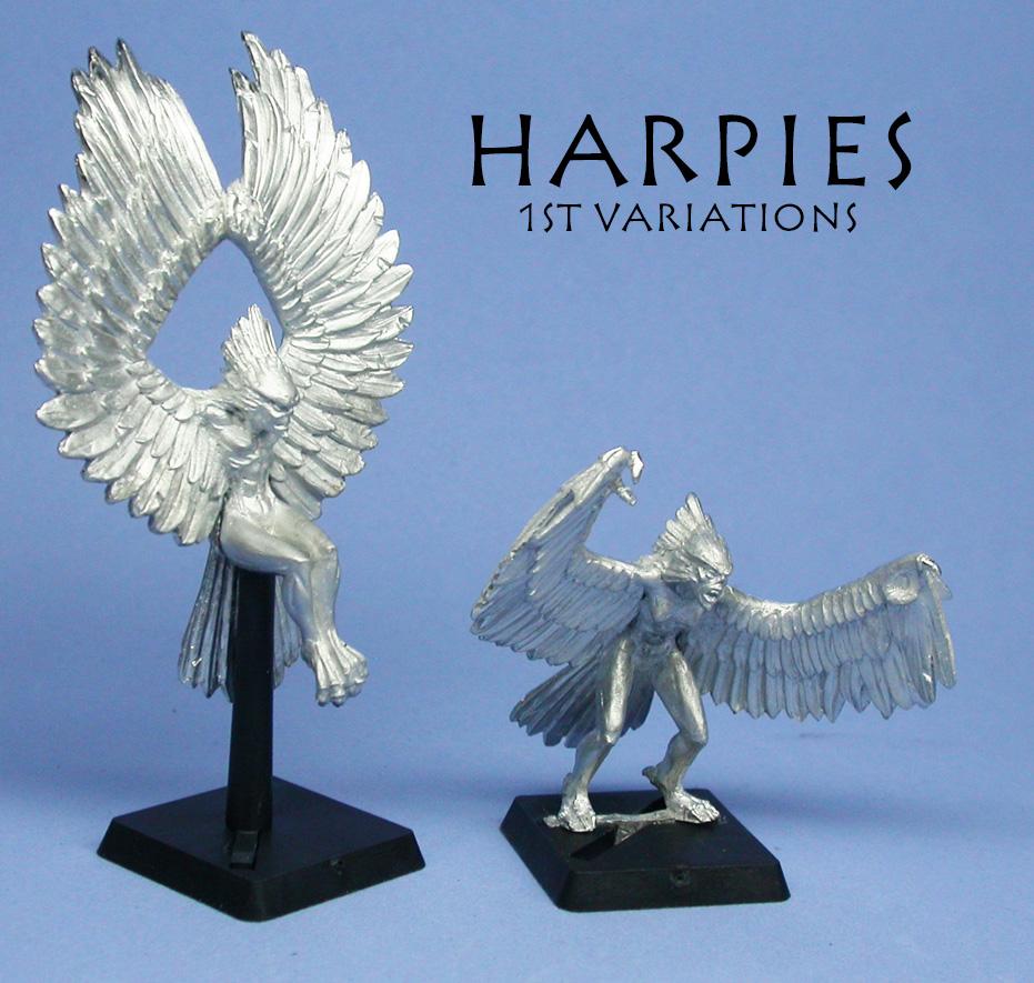 Harpy 2 poses