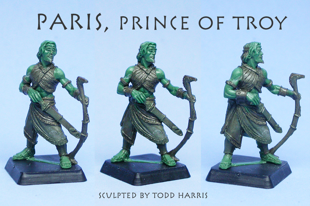 Paris, prince of Troy green