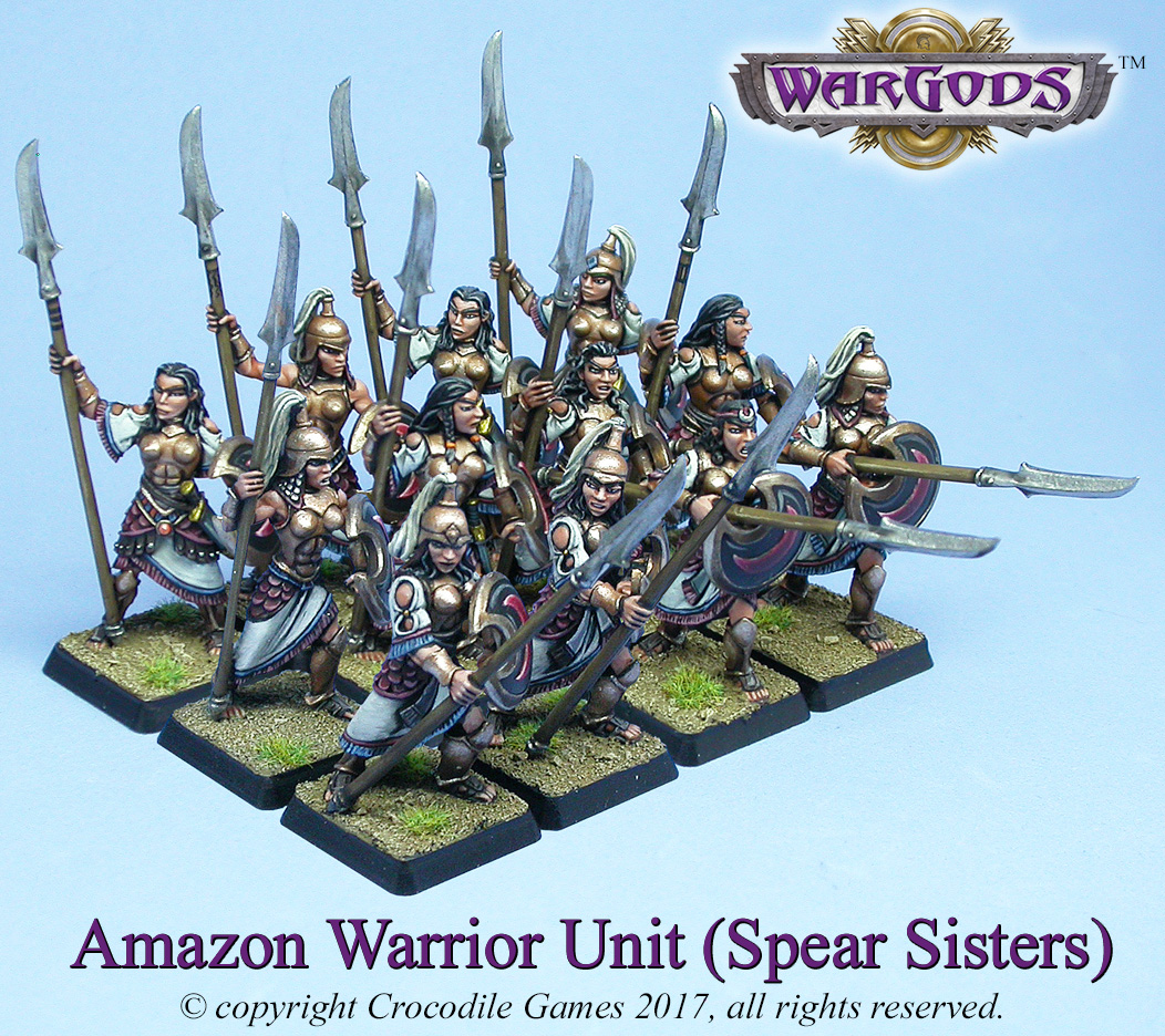 Amazon Spear Sisters
