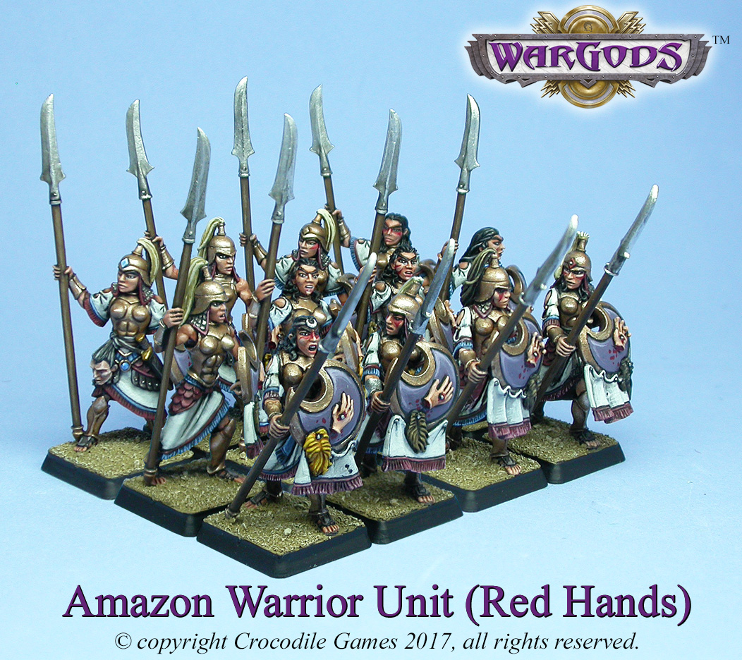 Amazon Red Hands