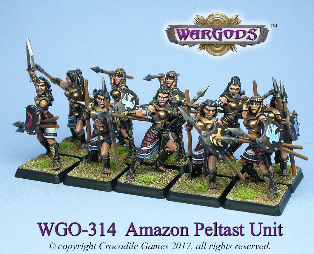 Amazon Peltast Unit