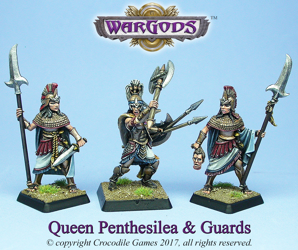 Queen Penthesilea & Guards