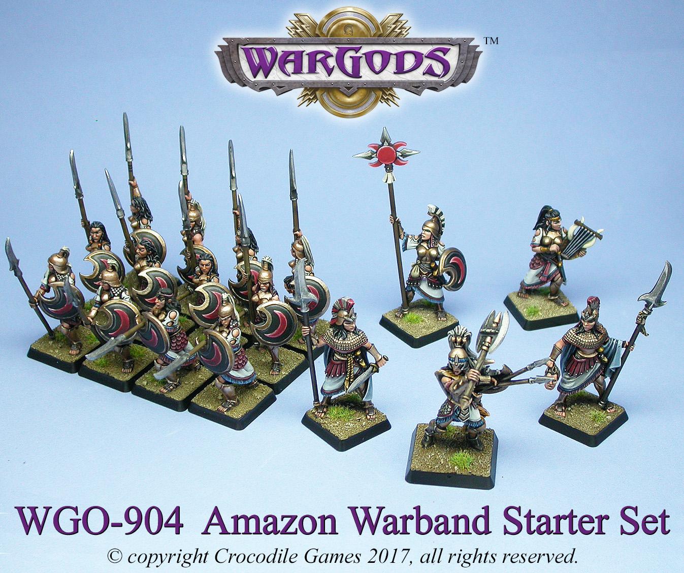 Amazons warband starter set