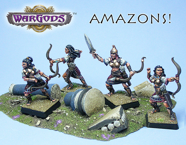 Amazons, now available!