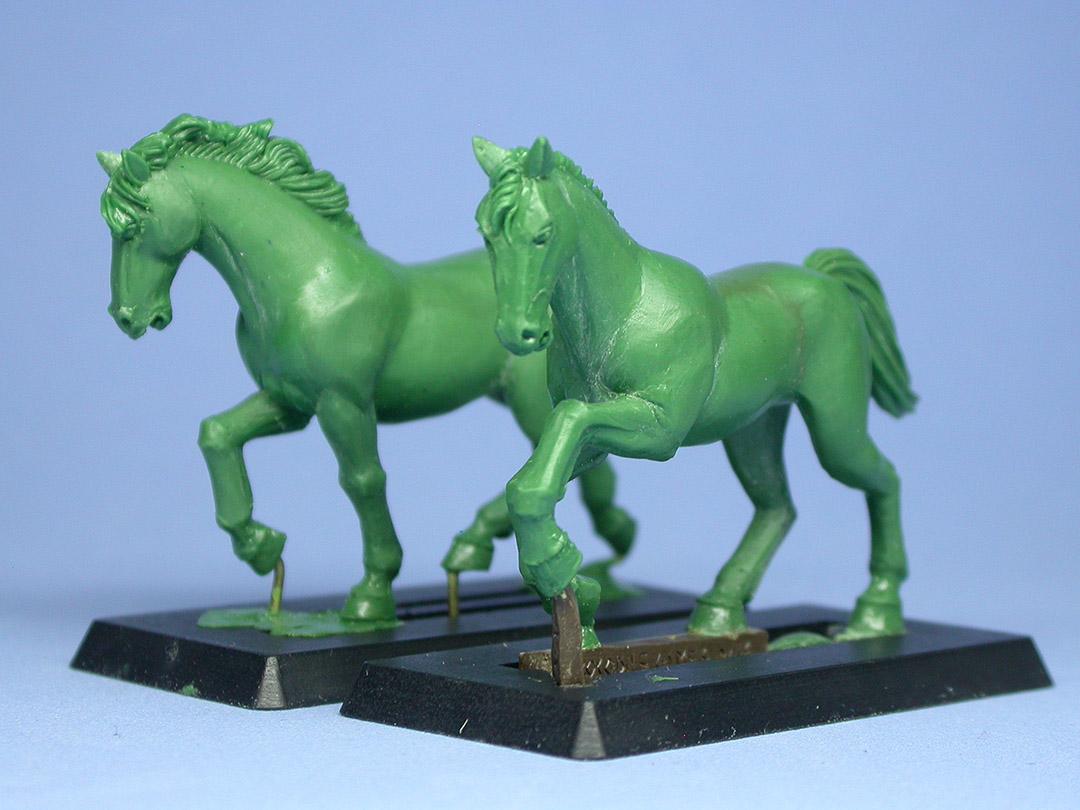 New WarGods Horses