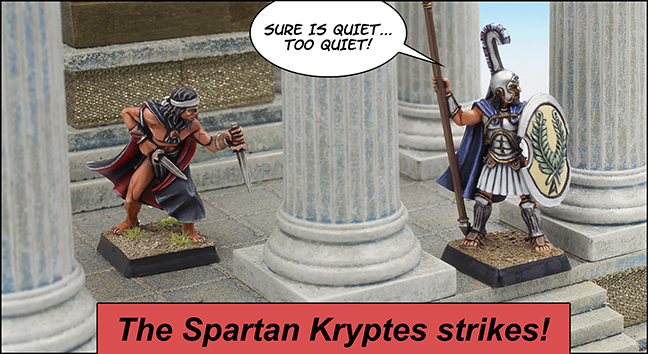 The Spartan Kryptes
