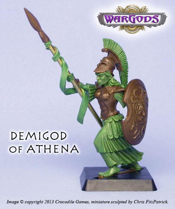 Demigod of Athena