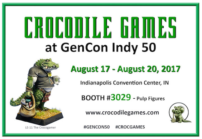 Croc at GenCon - Booth 3029