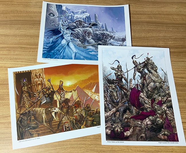 Warband Art Prints 1