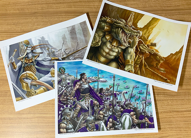 Warband Art Prints 2