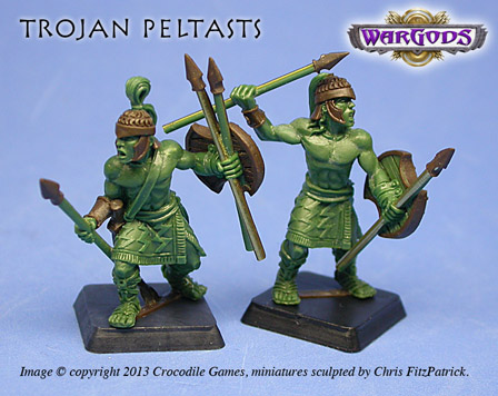 Trojan Peltasts