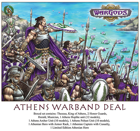 Athenian Warband, art by Paul Jeacock