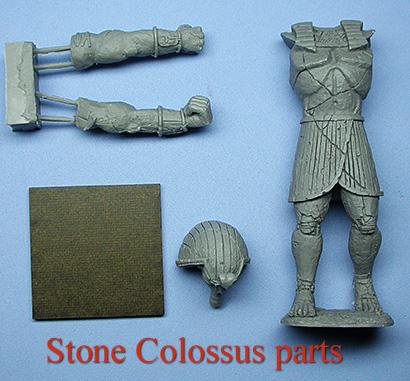 Stone Colossus parts