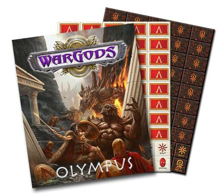 WarGods of Olympus Hardcover Edition