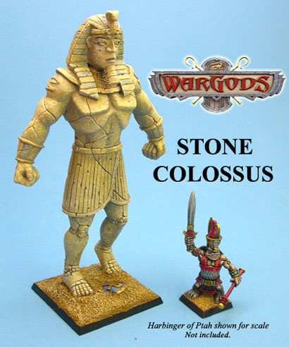Painted example of Stone Colossus