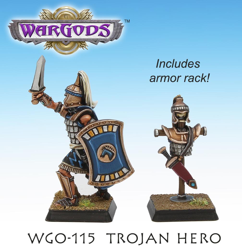 Trojan Hero, rear view