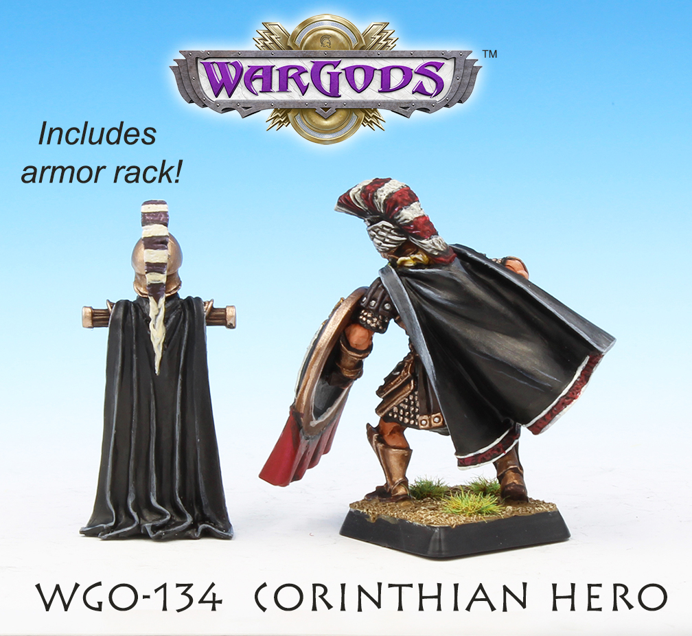 Corinth Hero, rear