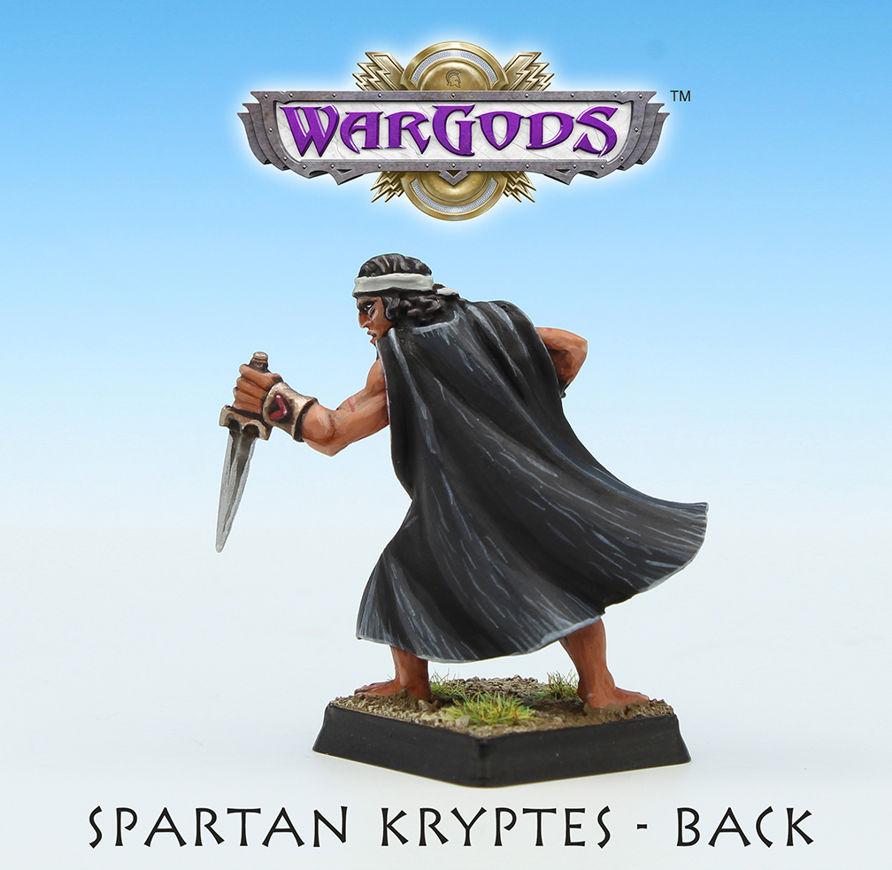 Spartan Kryptes, Rear View