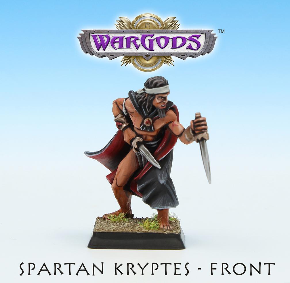 Spartan Kryptes, Front View