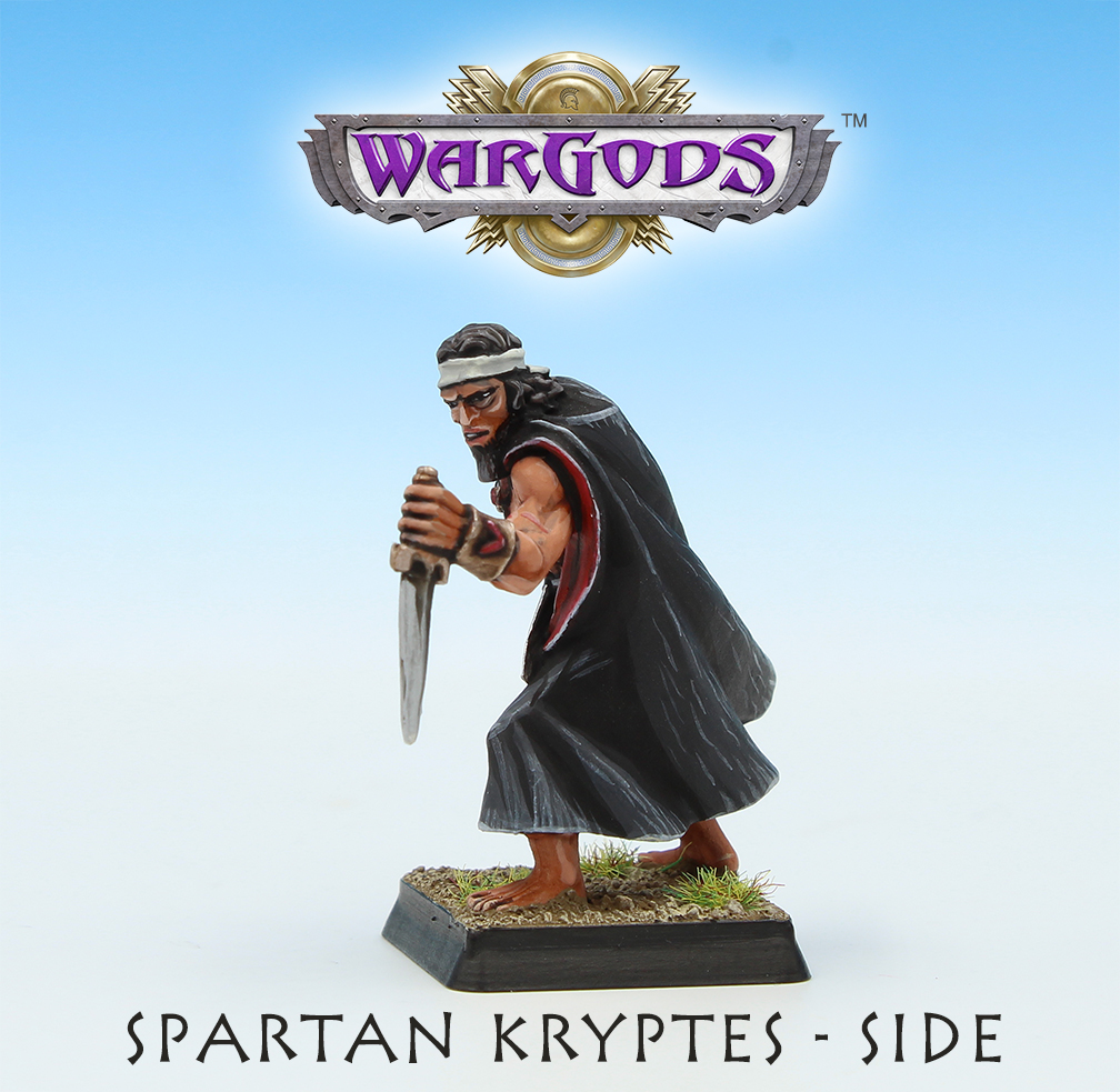 Spartan Kryptes, Side View