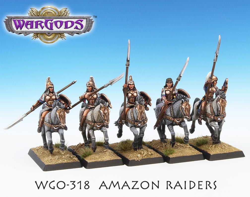 Amazon Raiders, alternate view