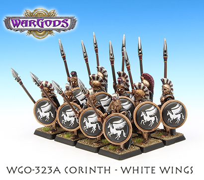 Hoplite Unit - White Wings