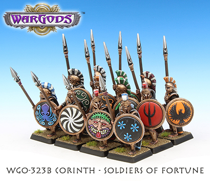 Corinth Soldiers of Fortune, side view
