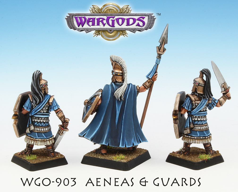 Prince Aeneas & Guards - Back