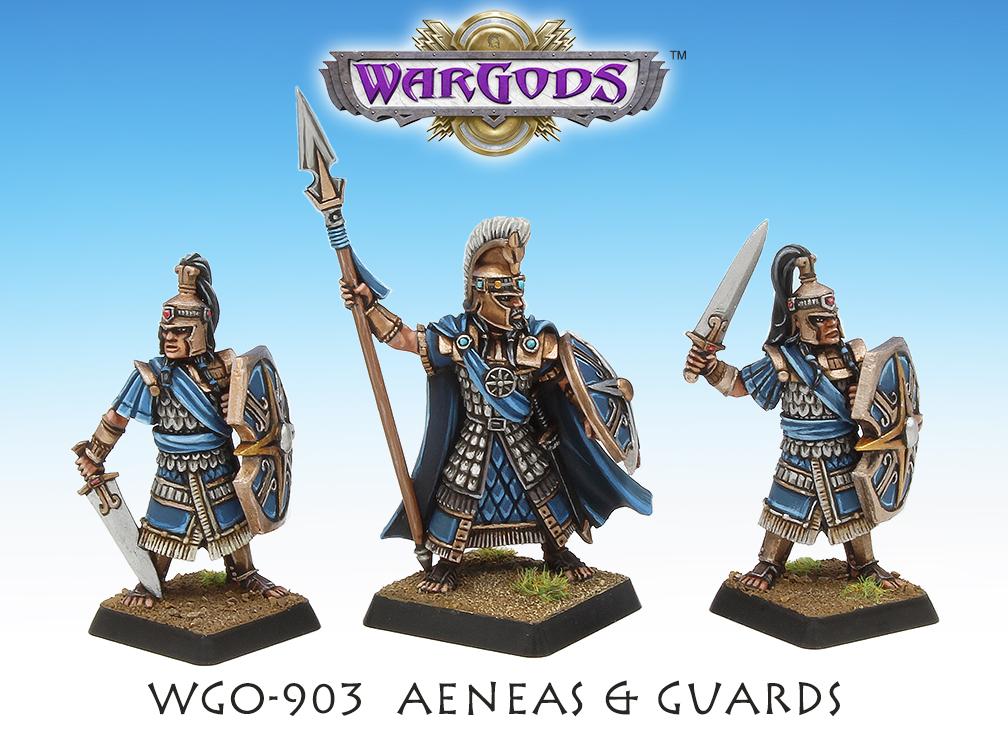 Prince Aeneas & Guards