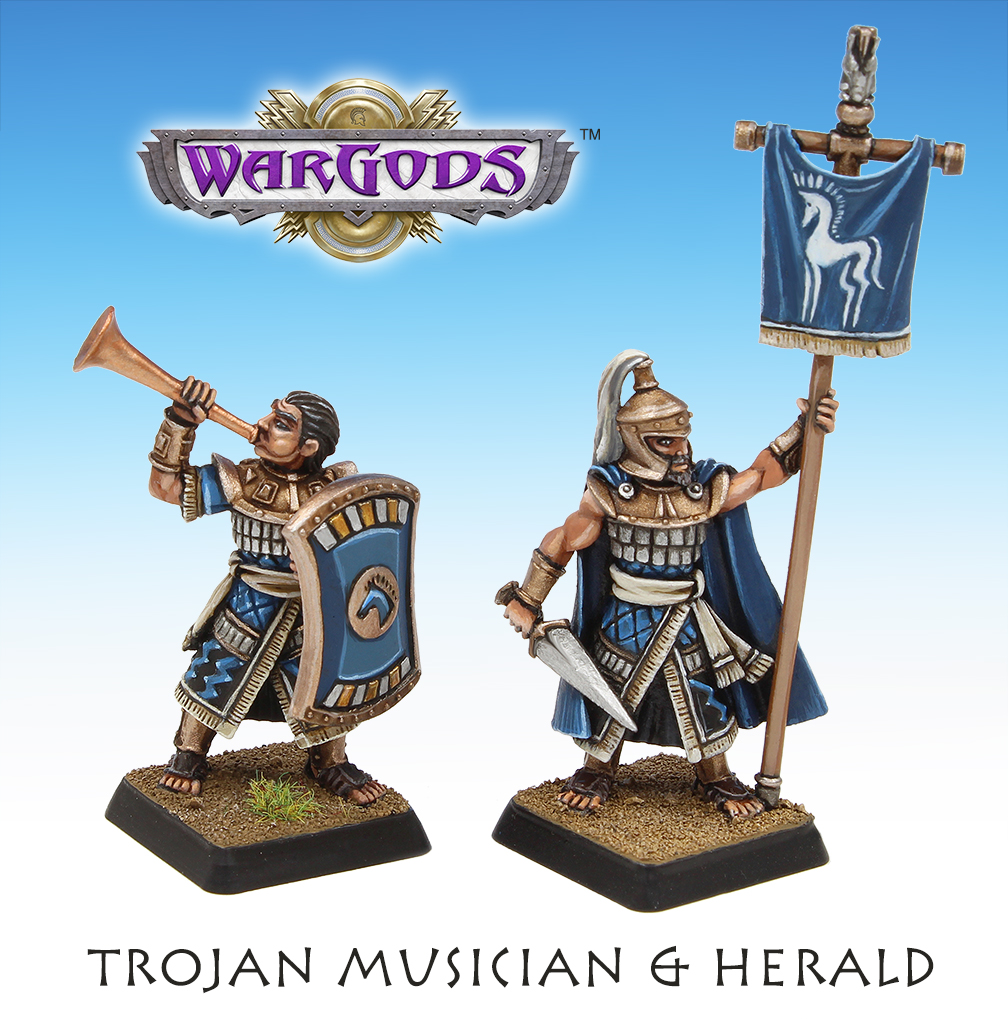 Trojan Herald and Musician