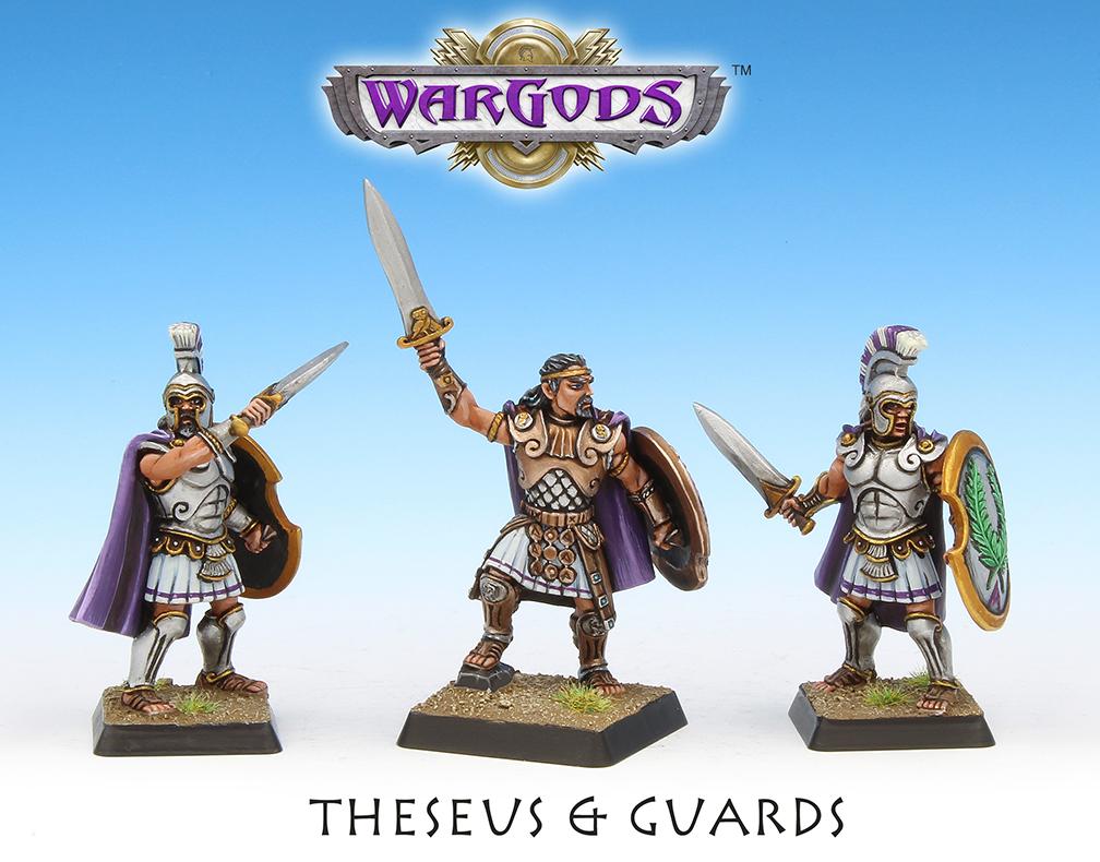 King Theseus & Guards