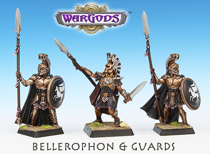 King Bellerophon & Guards